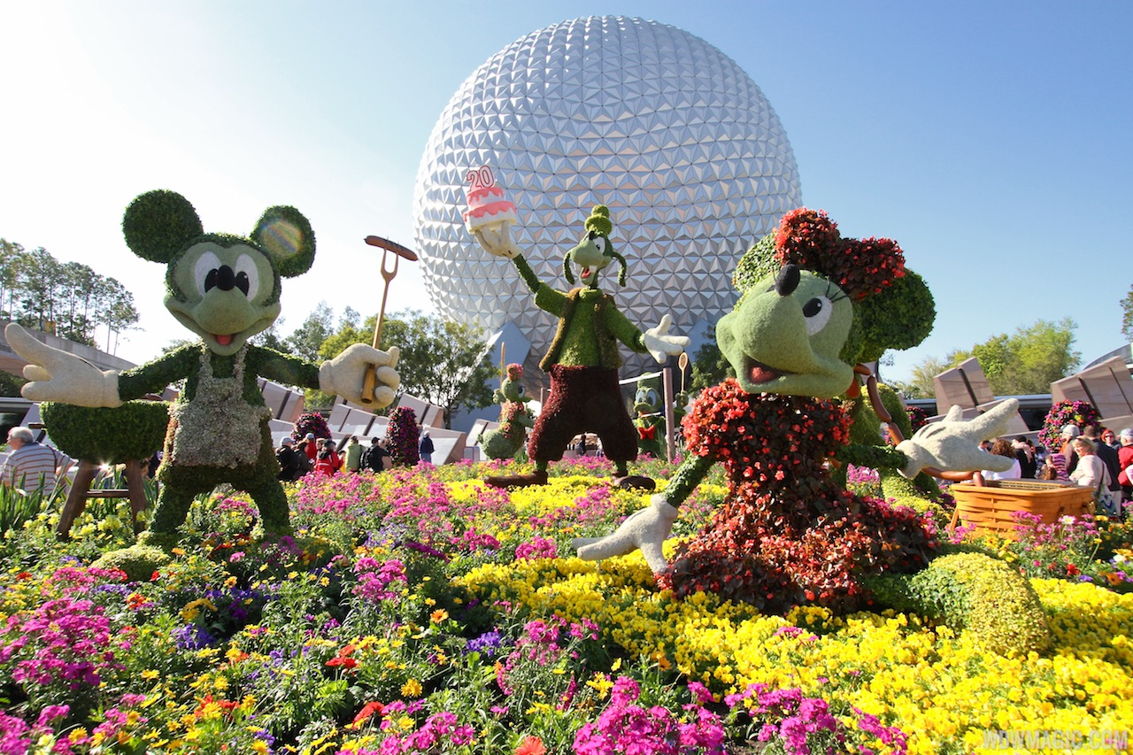 disney flower and garden. CONCERTS AT EPCOT FLOWER \u0026 GARDEN FESTIVAL Disney Flower And Garden